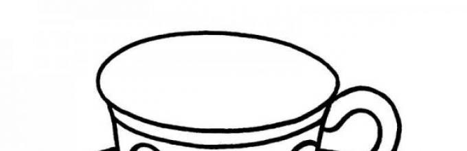 раскраска вилка для детей посуда раскраска для детей